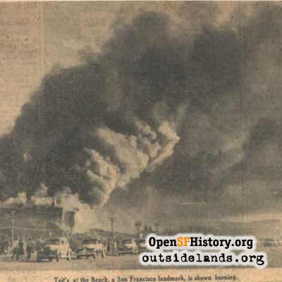 Taits burning - 1940