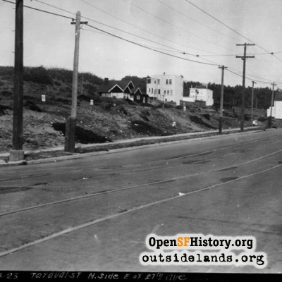 Taraval and 27th Avenue - 1923