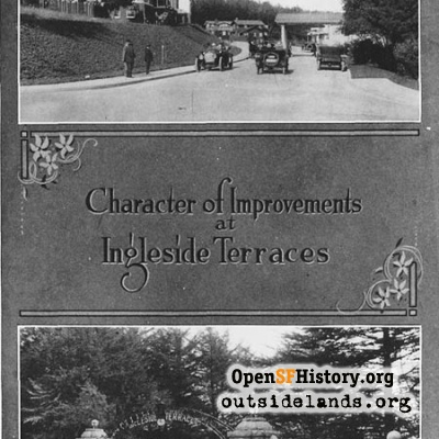 Ingleside Terraces Pamphlet Cover, 1913