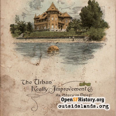 Urban Realty Improvement Co. Pamphlet Cover