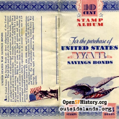 War Bonds Stamp Album