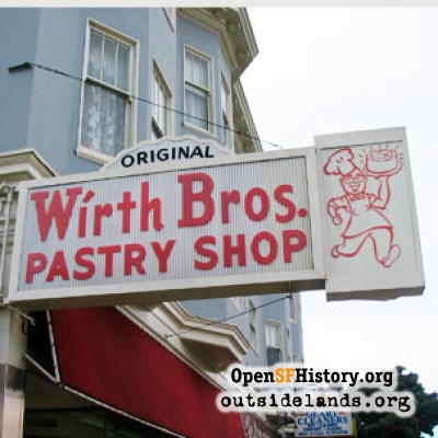 Wirth Bros. Pastry Shop, 2006