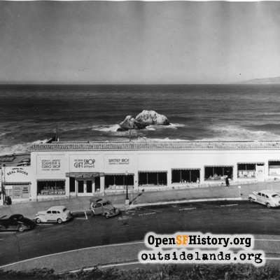 Third Cliff House, Gift Shop on Point Lobos Ave.
