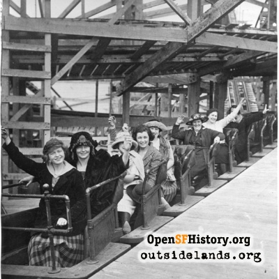 Sleigh Ride Roller Coaster, Playland