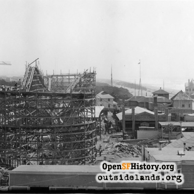 Big Dipper under construction