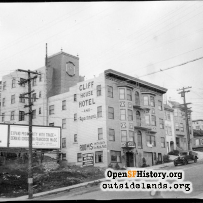 Cliff House Hotel & Apartments, Balboa St near 48th Ave