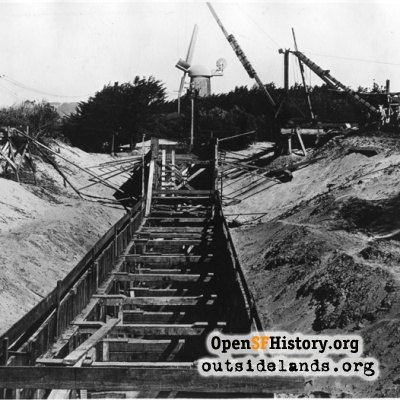 Golden Gate Park Construction