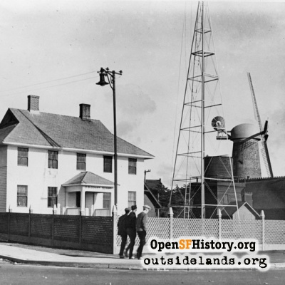Great Highway and Fulton. U.S. Coast Guard Lifesaving Station