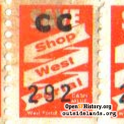 West Portal Red Stamps