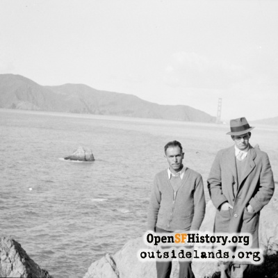 Lands End and Golden Gate Bridge Construction