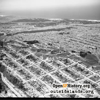 Golden Gate Heights Aerial