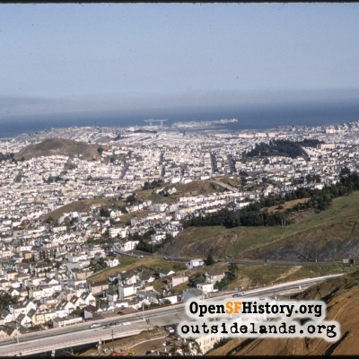 View SE from Twin Peaks