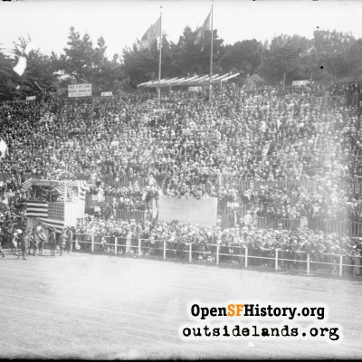Crowds at PPIE Racetrack Stadium