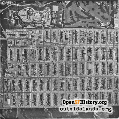Richmond District Aerial
