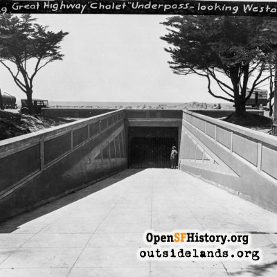 Great Highway underpass