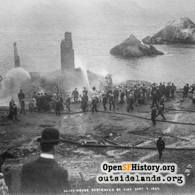 Cliff House Fire