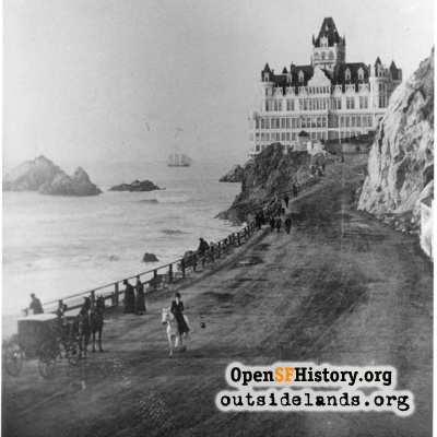Second Cliff House & Seal Rocks