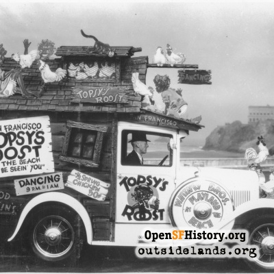 Topsy's Roost Car