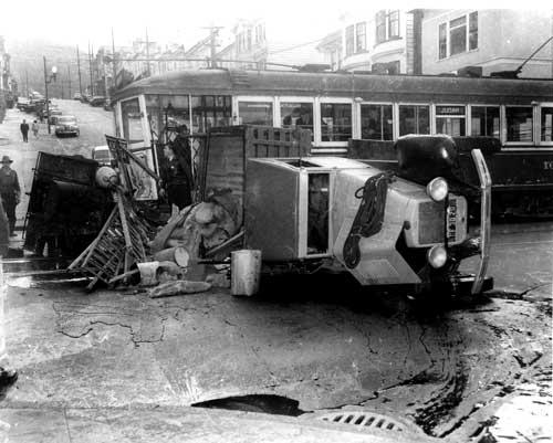 Streetcars N Judah Line Western Neighborhoods Project San