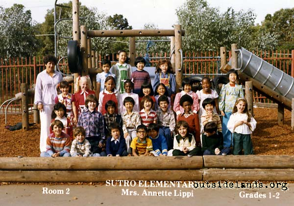 Sutro 1st and 2nd Grade 1979-80