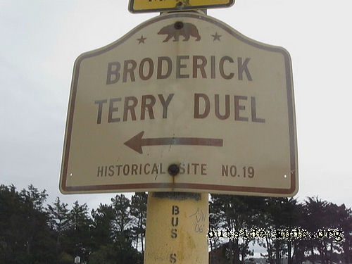 History Minute: Broderick-Terry Duel Reenactment