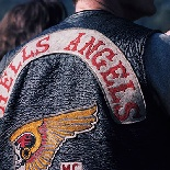 Hells Angels Member at Human Be-In, 1967