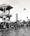 Fleishhacker Pool Diving Platform, 1920s