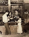 Lincoln High School lab, 1940.