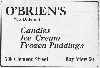 O'Brien's Candy Factory, 1922