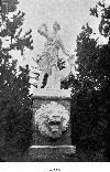 Diana statue in Sutro Heights, 1890s