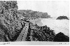 Sutro Baths. Early construction work